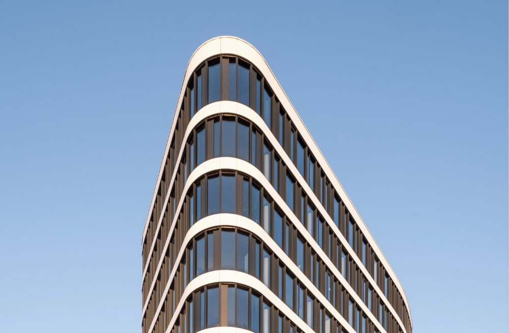 Merkur Campus Graz – Fassadenausschnitt